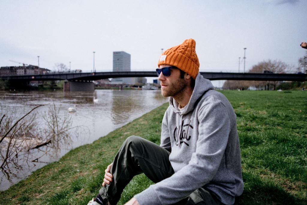 Am Neckar in Mannheim (Foto by Seen Lin)